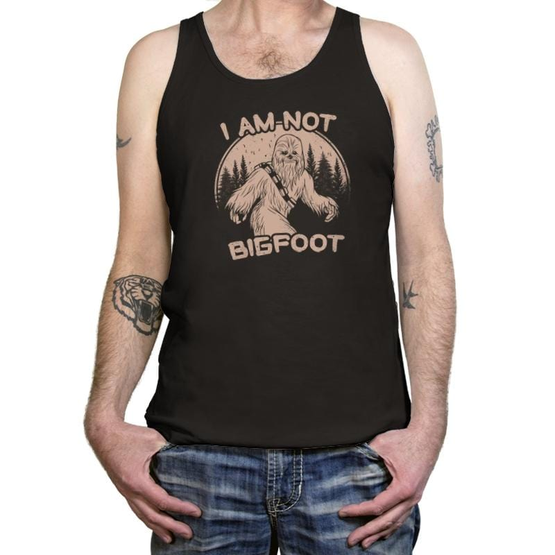 I Am Not Big Foot - Tanktop - Tanktop - RIPT Apparel