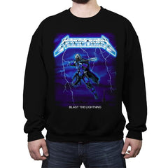 Blast The Lightning - Anytime - Crew Neck Sweatshirt - Crew Neck Sweatshirt - RIPT Apparel