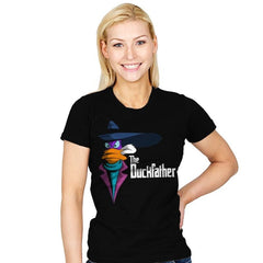 The Duckfather - Womens - T-Shirts - RIPT Apparel