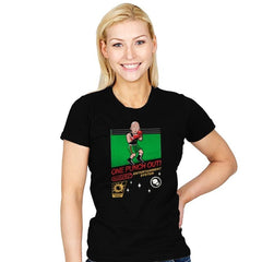 One Punch Out - Womens - T-Shirts - RIPT Apparel