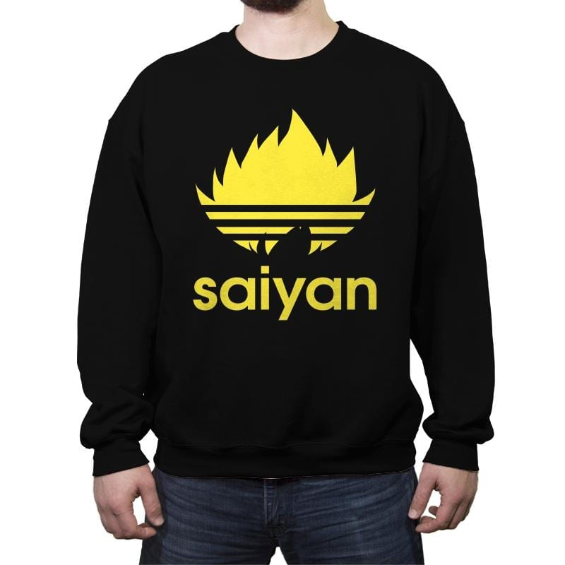Saiyan - Crew Neck Sweatshirt - Crew Neck Sweatshirt - RIPT Apparel