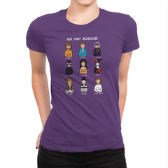 The Many Disguises of a Morgandorfer Exclusive - Womens Premium - T-Shirts - RIPT Apparel