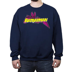 The Cassette Crusader - Crew Neck Sweatshirt - Crew Neck Sweatshirt - RIPT Apparel
