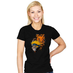 Demon Fox - Graffitees - Womens - T-Shirts - RIPT Apparel