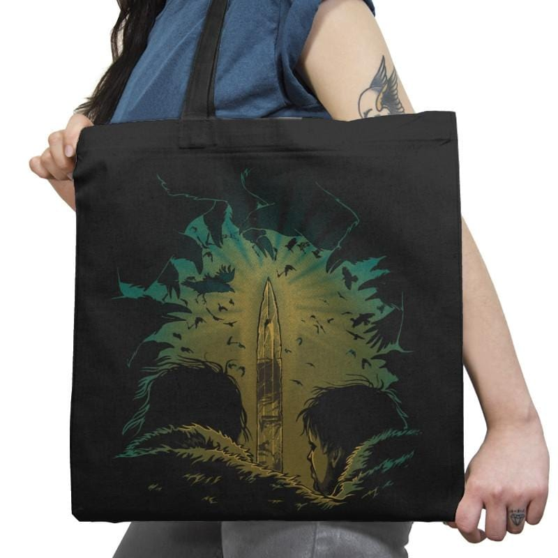 I am the Sword in the Darkness - Game of Shirts - Tote Bag - Tote Bag - RIPT Apparel