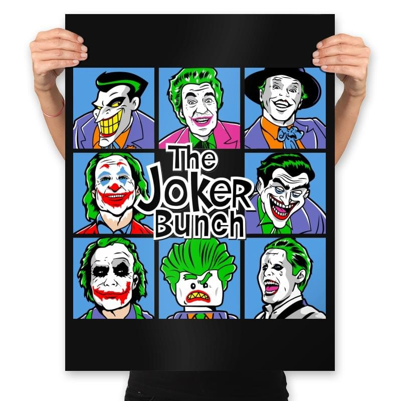 Bunch of Jokers - Prints - Posters - RIPT Apparel