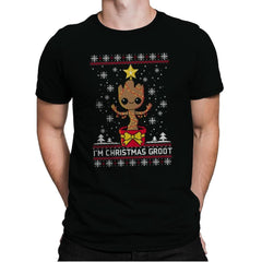 Christmas Tree - Ugly Holiday - Mens Premium - T-Shirts - RIPT Apparel