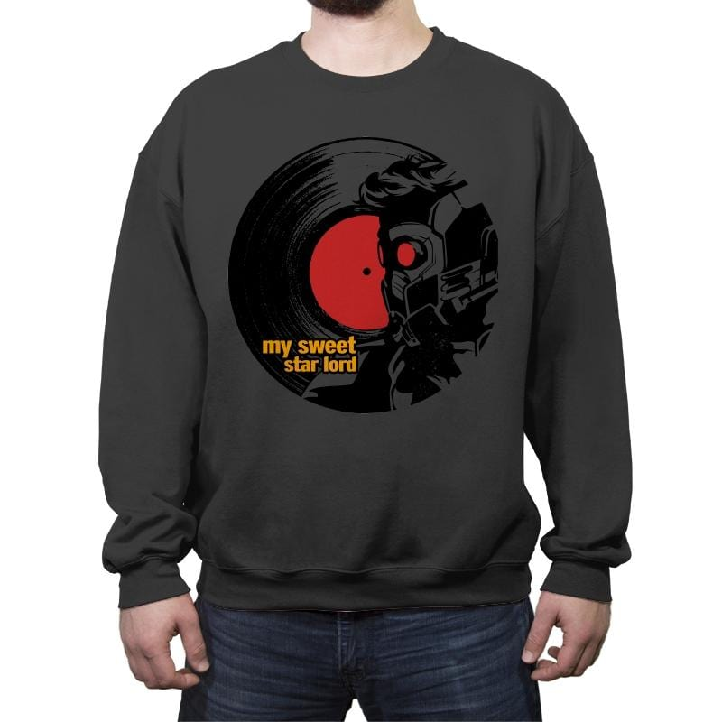 Record of the Galaxy - Crew Neck Sweatshirt - Crew Neck Sweatshirt - RIPT Apparel