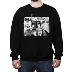 Bounty Hunter Posse - Crew Neck Sweatshirt - Crew Neck Sweatshirt - RIPT Apparel