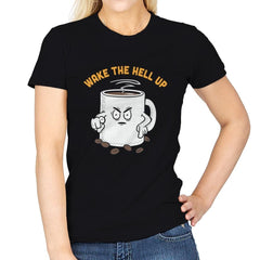 Wake Up Now! - Womens - T-Shirts - RIPT Apparel
