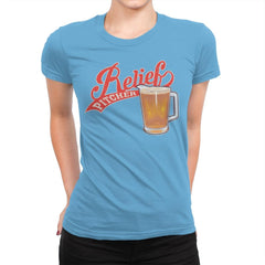 Relief Pitcher - Womens Premium - T-Shirts - RIPT Apparel