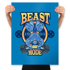 Beast Mode - Prints - Posters - RIPT Apparel