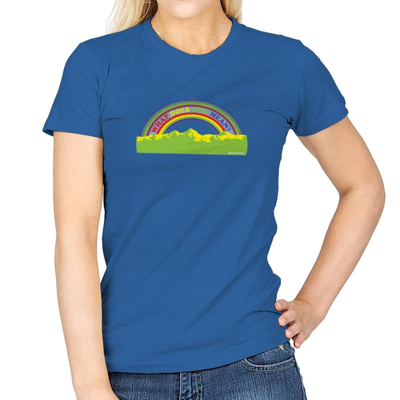 Double Rainbow Exclusive - Womens - T-Shirts - RIPT Apparel