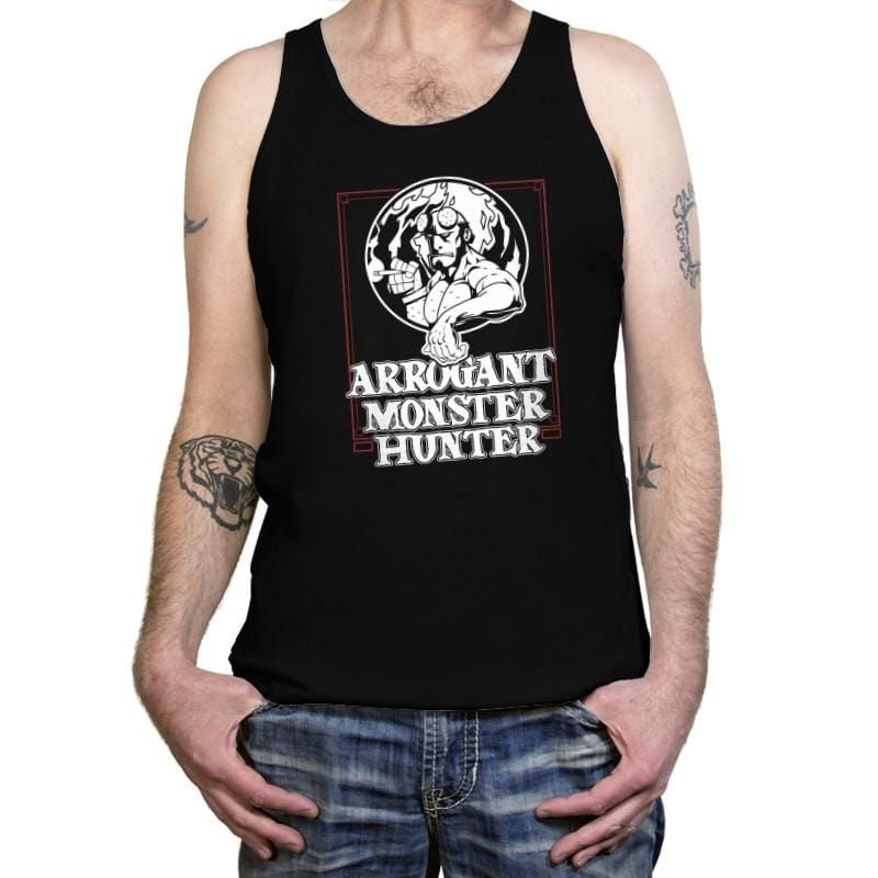 Arrogant Monster Hunter - Tanktop - Tanktop - RIPT Apparel