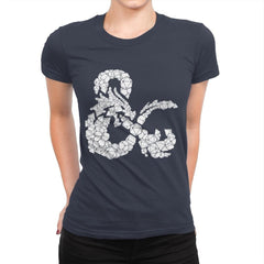 Dice & Dragons - Anytime - Womens Premium - T-Shirts - RIPT Apparel