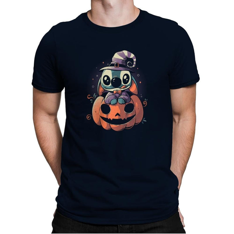 Ohana Pumpkin - Anytime - Mens Premium - T-Shirts - RIPT Apparel
