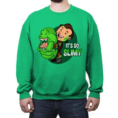 It's So Slimy - Crew Neck Sweatshirt - Crew Neck Sweatshirt - RIPT Apparel