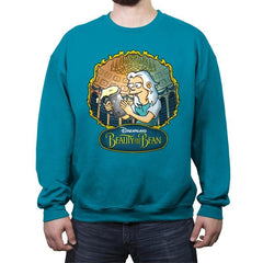 Beauty and the Bean - Crew Neck Sweatshirt - Crew Neck Sweatshirt - RIPT Apparel