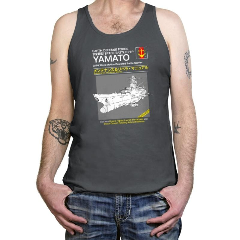 Yamato Repair Manual Exclusive - Anime History Lesson - Tanktop - Tanktop - RIPT Apparel