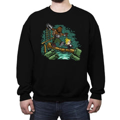 Barret & Cloud - Crew Neck Sweatshirt - Crew Neck Sweatshirt - RIPT Apparel