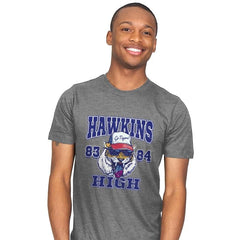 Hawkins High School Tigers  - Mens - T-Shirts - RIPT Apparel