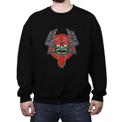 TIMELESS DEMON - Crew Neck Sweatshirt - Crew Neck Sweatshirt - RIPT Apparel