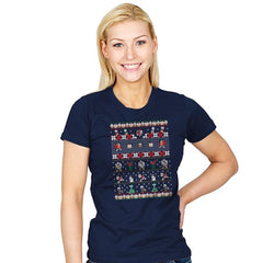 Merry Christmas Uncle Scrooge - Womens - T-Shirts - RIPT Apparel