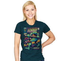Donnie's Comics - Womens - T-Shirts - RIPT Apparel