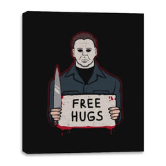 Free Hugs Yay - Canvas Wraps - Canvas Wraps - RIPT Apparel