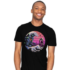 Retro Wave EVA - Mens - T-Shirts - RIPT Apparel