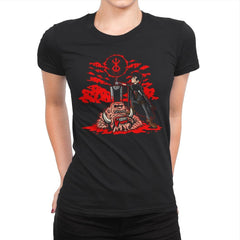 The Hunk of Iron - Womens Premium - T-Shirts - RIPT Apparel