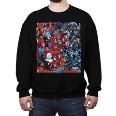 Spides VS Symbs - Best Seller - Crew Neck Sweatshirt - Crew Neck Sweatshirt - RIPT Apparel