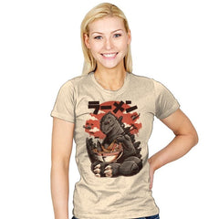 Kaiju's Ramen - Womens - T-Shirts - RIPT Apparel