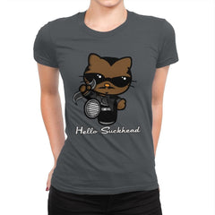 Hello Suckhead - Womens Premium - T-Shirts - RIPT Apparel