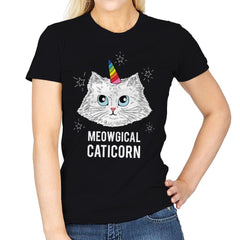 Meowgical Caticorn - Womens - T-Shirts - RIPT Apparel