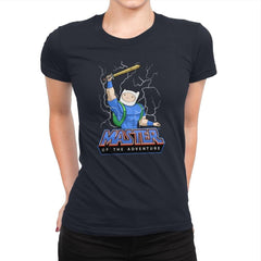 Master of time and adventure - Womens Premium - T-Shirts - RIPT Apparel