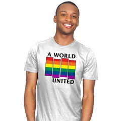 A World United Exclusive - Pride - Mens - T-Shirts - RIPT Apparel
