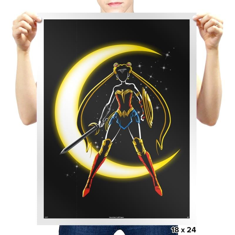 Wonder Moon  Exclusive - Prints - Posters - RIPT Apparel