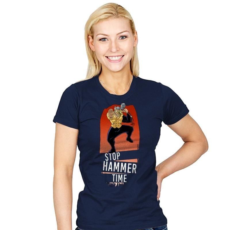 Hammer Time  - Womens - T-Shirts - RIPT Apparel