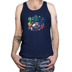 Mushroom League Reprint - Tanktop - Tanktop - RIPT Apparel