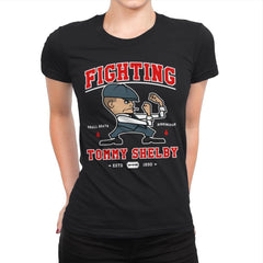 Fighting Shelby - Womens Premium - T-Shirts - RIPT Apparel