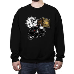 Super Cenobite Bros - Crew Neck Sweatshirt - Crew Neck Sweatshirt - RIPT Apparel