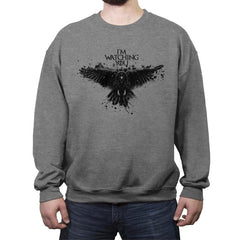 Three eyed raven - Crew Neck Sweatshirt - Crew Neck Sweatshirt - RIPT Apparel
