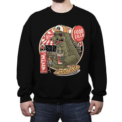Foodzilla - Crew Neck Sweatshirt - Crew Neck Sweatshirt - RIPT Apparel