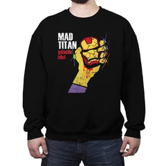 Galactic Idiot - Crew Neck Sweatshirt - Crew Neck Sweatshirt - RIPT Apparel