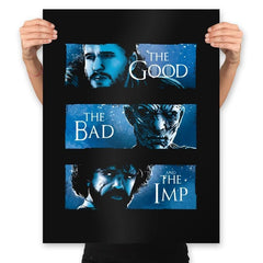 The Good, The Bad and The Imp - Prints - Posters - RIPT Apparel