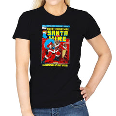 Santa For Hire Exclusive - Womens - T-Shirts - RIPT Apparel