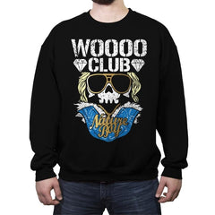 WOO CLUB - Crew Neck Sweatshirt - Crew Neck Sweatshirt - RIPT Apparel