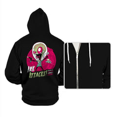 Irk Attacks! - Hoodies - Hoodies - RIPT Apparel