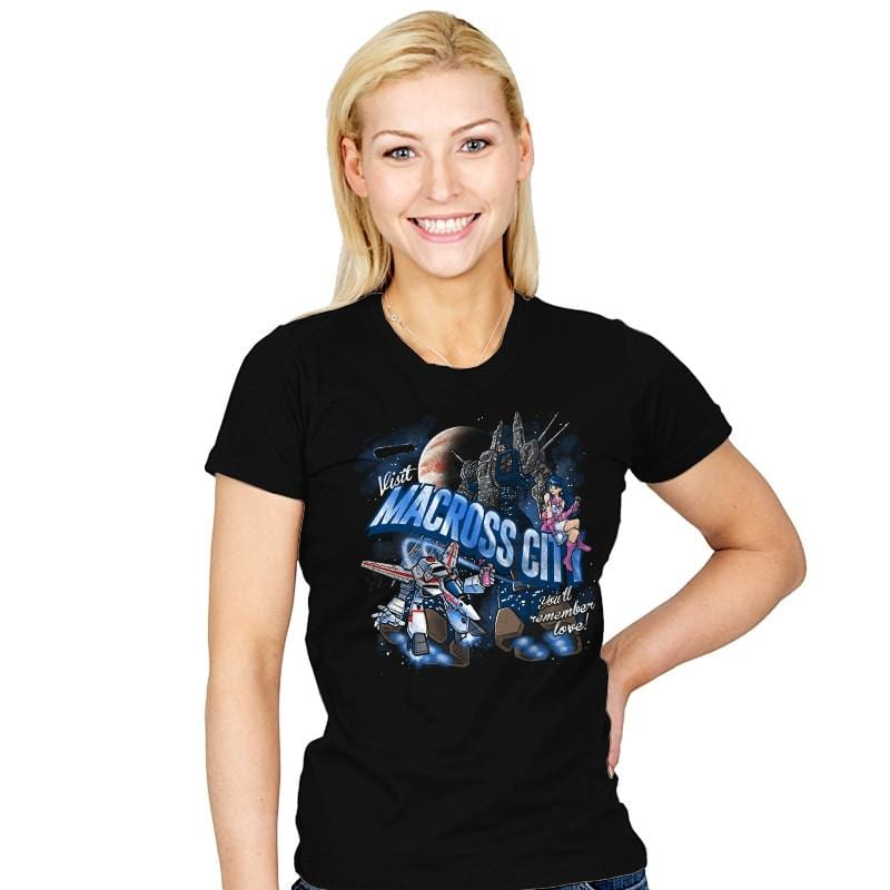 Visit Macross City - Womens - T-Shirts - RIPT Apparel